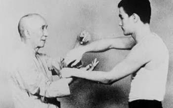 Yip Man i Bruce Lee - chi sau